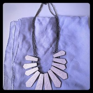 Jewelry - Silver-toned Statement Necklace